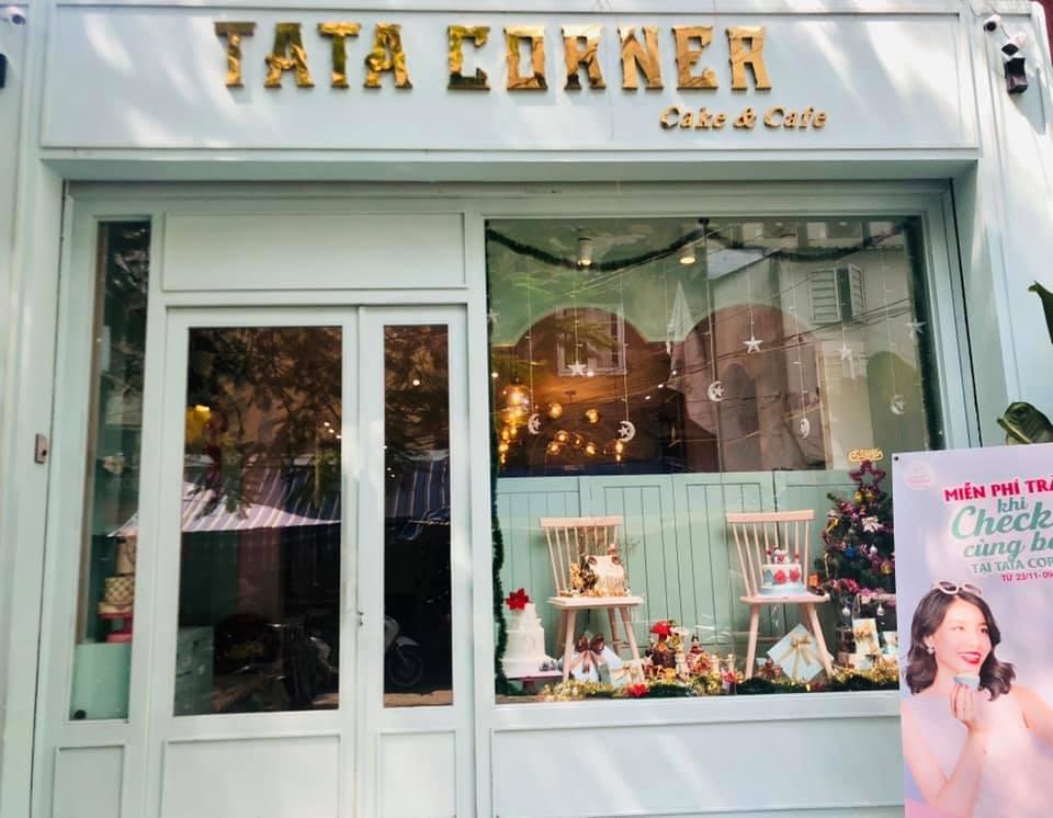 TATA Corner - tiệm cà phê bánh với không gian Pastel siêu cute và ngọt ngào thiet ke tiem cafe banh Tata Bakery 8
