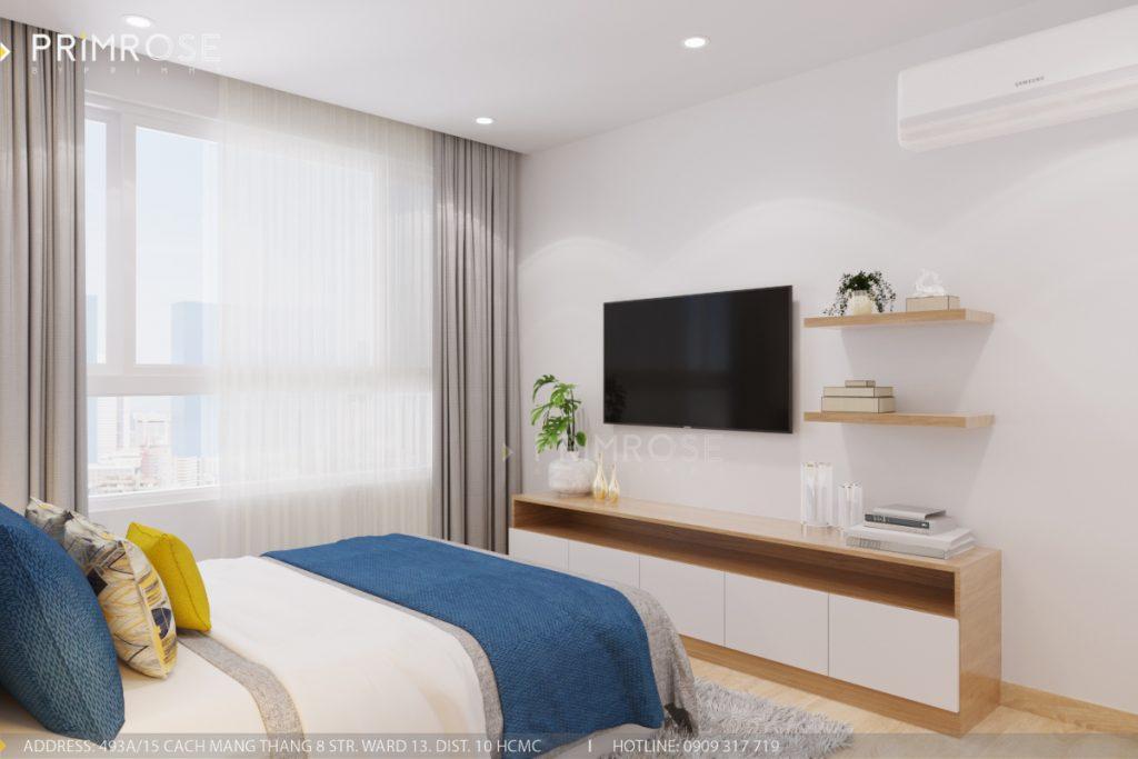 Thiết kế nội thất căn hộ Sunrise Riverside, Quận 7 thiet ke can ho hien dai Sunrise Riverside Quan7 10
