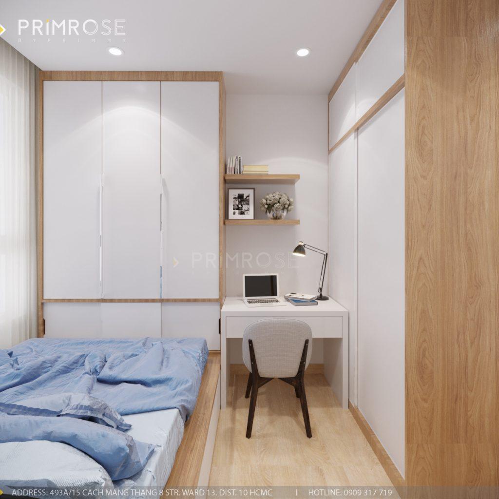 Thiết kế nội thất căn hộ Sunrise Riverside, Quận 7 thiet ke can ho hien dai Sunrise Riverside Quan7 12