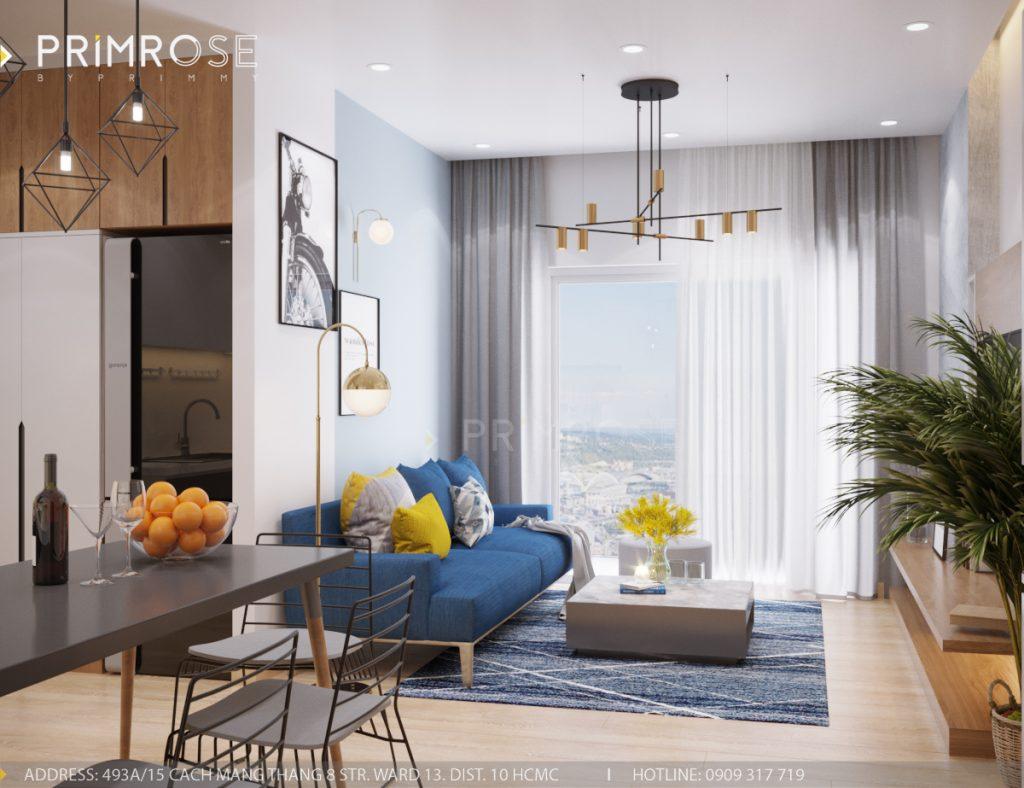 Thiết kế nội thất căn hộ Sunrise Riverside, Quận 7 thiet ke can ho hien dai Sunrise Riverside Quan7 2