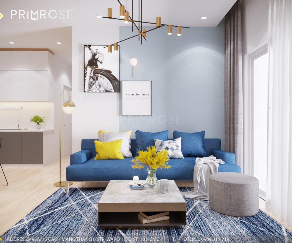 Thiết kế nội thất căn hộ Sunrise Riverside, Quận 7 thiet ke can ho hien dai Sunrise Riverside Quan7 5