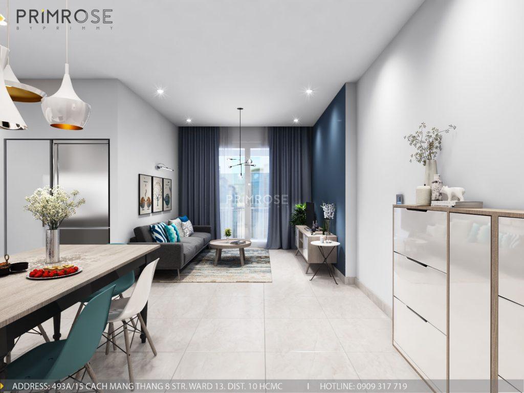 Thiết kế nội thất căn hộ Sunrise Riverside, Phước Kiểng, Nhà Bè thiet ke noi that can ho Sunrise Rriverside Nha Be Phuoc Kieng 2