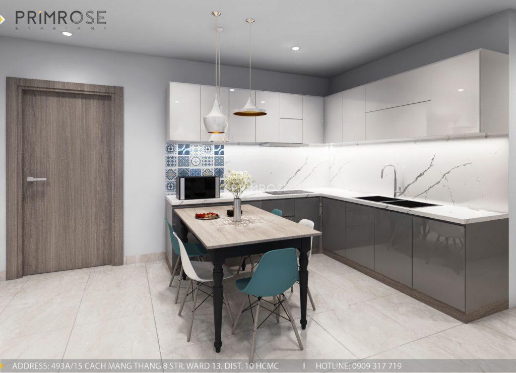 Thiết kế nội thất căn hộ Sunrise Riverside, Phước Kiểng, Nhà Bè thiet ke noi that can ho Sunrise Rriverside Nha Be Phuoc Kieng 5