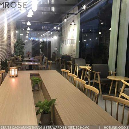 Dự án thi công quán cafe AM