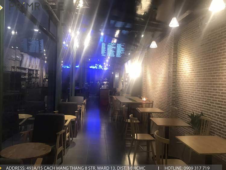 Dự án thi công quán cafe AM thiet ke quan cafe phong cach hien dai 10