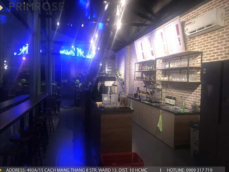 Dự án thi công quán cafe AM thiet ke quan cafe phong cach hien dai 11