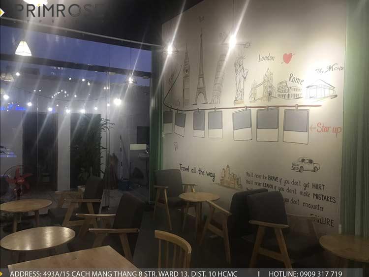 Dự án thi công quán cafe AM thiet ke quan cafe phong cach hien dai 12