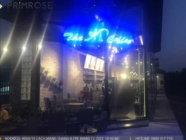 Dự án thi công quán cafe AM thiet ke quan cafe phong cach hien dai 15
