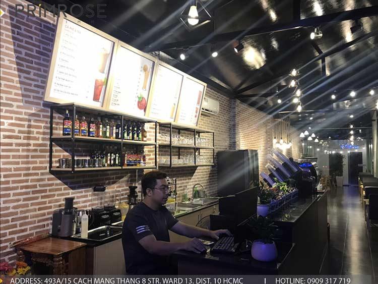 Dự án thi công quán cafe AM thiet ke quan cafe phong cach hien dai 4