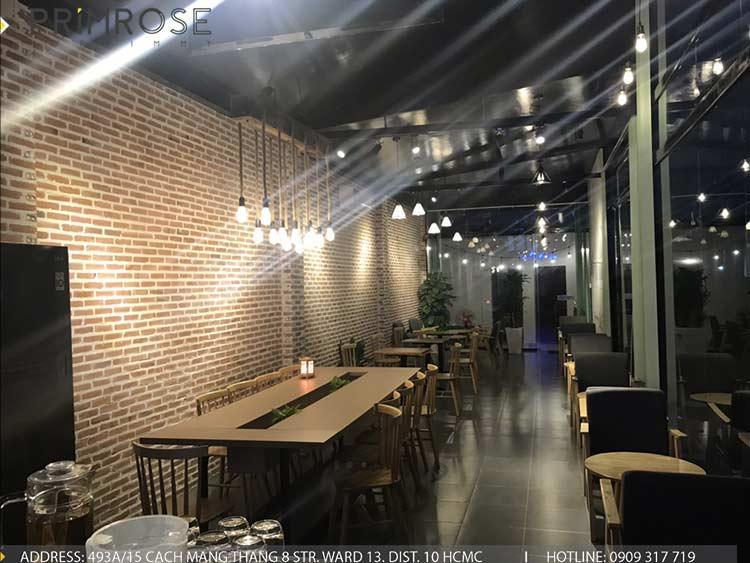 Dự án thi công quán cafe AM thiet ke quan cafe phong cach hien dai 8