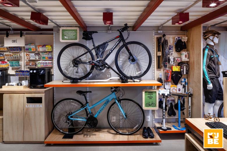 Chiêm ngưỡng không gian nội thất showroom xe đạp siêu chất thiet ke showroom trung bay dep 2