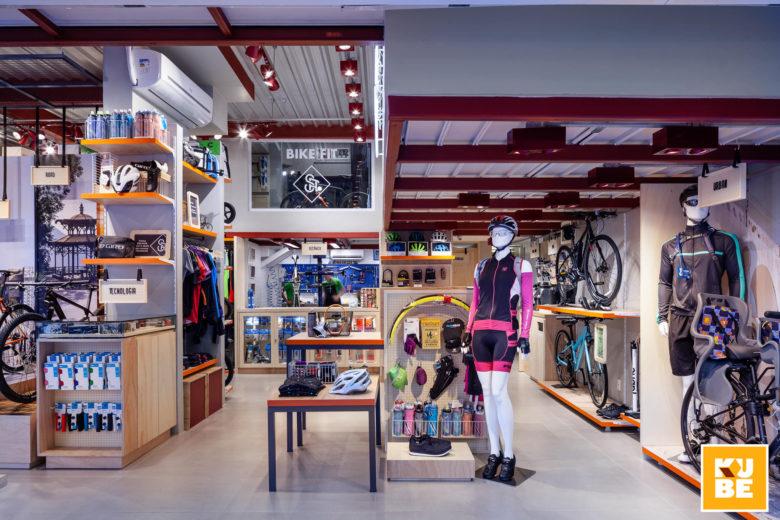 Chiêm ngưỡng không gian nội thất showroom xe đạp siêu chất thiet ke showroom trung bay dep 3