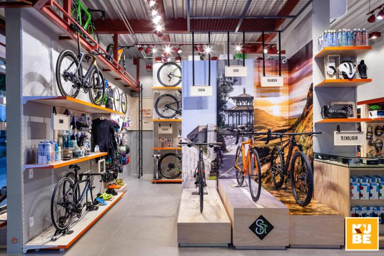 Chiêm ngưỡng không gian nội thất showroom xe đạp siêu chất thiet ke showroom trung bay dep 5