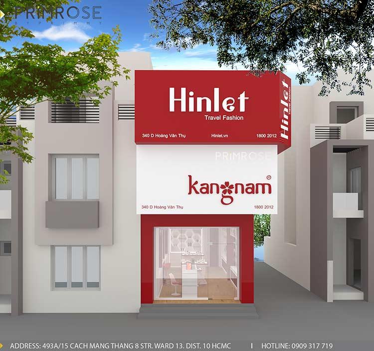 Tạo sự khác biệt trong thiết kế nội thất showroom mỹ phẩm Kang Nam - Tân Bình, HCM thiet ke showroom my pham Kang Nam 9