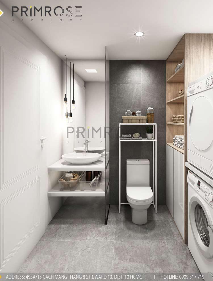 Thiết kế nội thất căn hộ 2 phòng ngủ tại dự án Sunrise Riverside - Nhà Bè Untitled 3
