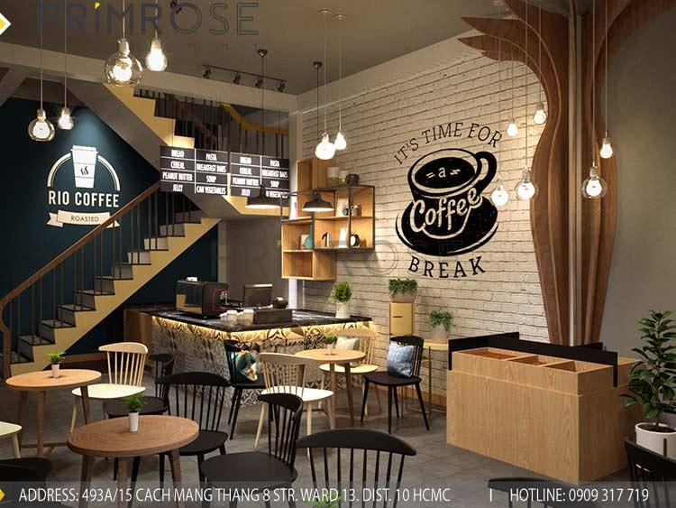 4 Phong cách thiết kế nội thất cafe được ưa chuộng nhất hiện nay phong cah thiet ke quan cafe dep 1