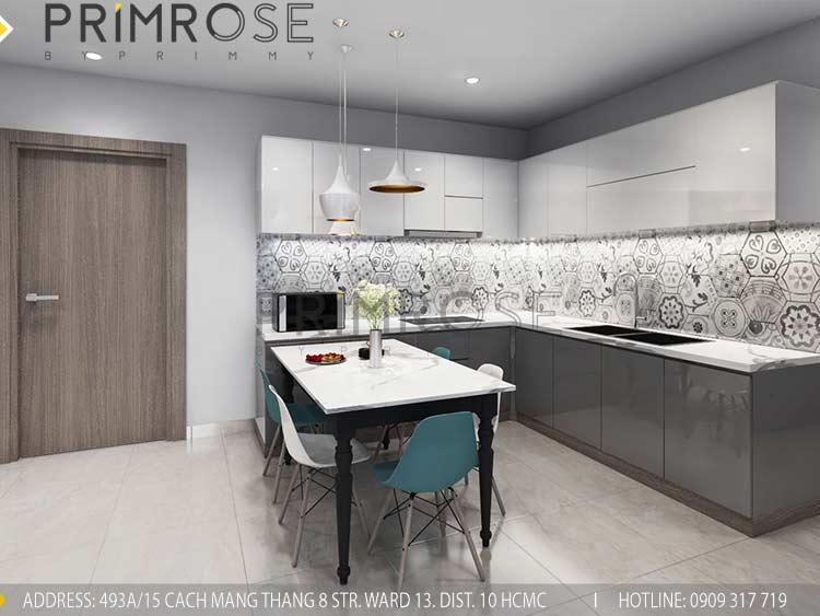 Thiết kế nội thất căn hộ 2 phòng ngủ tại dự án Sunrise Riverside - Nhà Bè pk view4