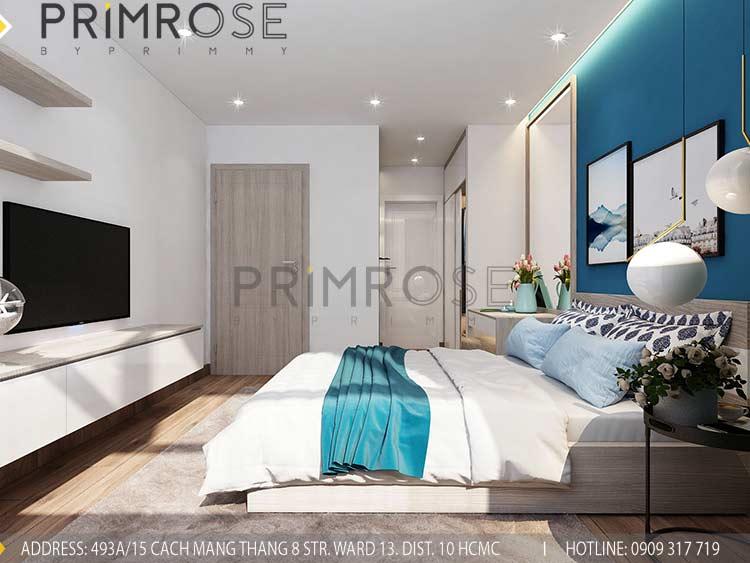 Thiết kế nội thất căn hộ 2 phòng ngủ tại dự án Sunrise Riverside - Nhà Bè pn 2