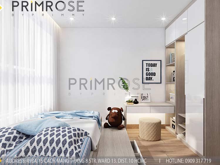 Thiết kế nội thất căn hộ 2 phòng ngủ tại dự án Sunrise Riverside - Nhà Bè pn view1