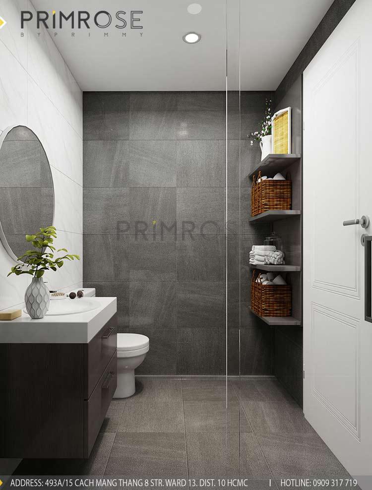 Thiết kế nội thất căn hộ 2 phòng ngủ tại dự án Sunrise Riverside - Nhà Bè pt 2