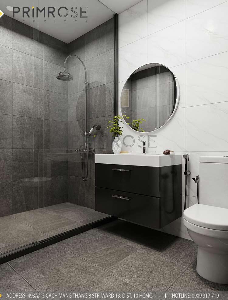 Thiết kế nội thất căn hộ 2 phòng ngủ tại dự án Sunrise Riverside - Nhà Bè pt 4