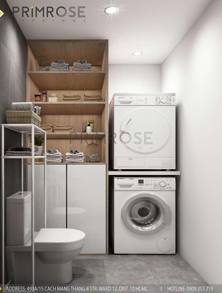 Thiết kế nội thất căn hộ 2 phòng ngủ tại dự án Sunrise Riverside - Nhà Bè pt 5