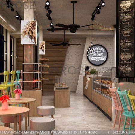 Lên ý tưởng thiết kế nội thất tiệm bánh – cafe mang phong cách riêng của bạn