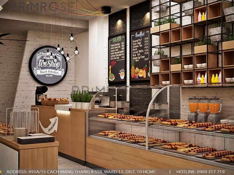 Lên ý tưởng thiết kế nội thất tiệm bánh - cafe mang phong cách riêng của bạn thiet ke cafe banh 4