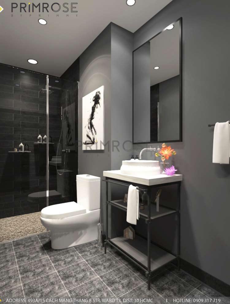 Mẫu thiết kế nội thất căn hộ 75m2 với 2 phòng ngủ thiet ke noi that can ho 75m2 4