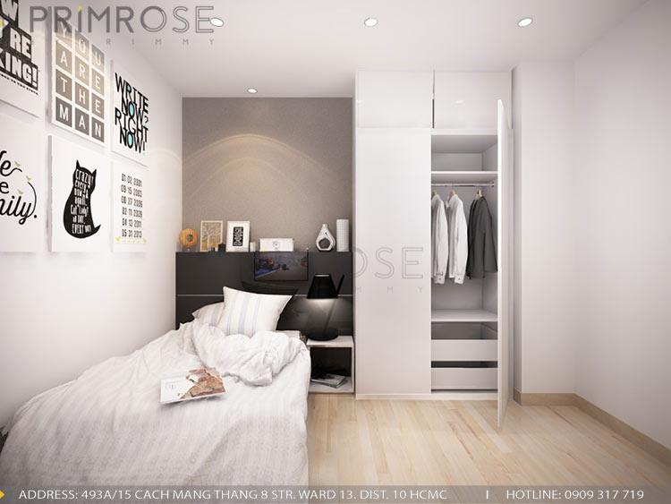 Mẫu thiết kế nội thất căn hộ 75m2 với 2 phòng ngủ thiet ke noi that can ho 75m2 6