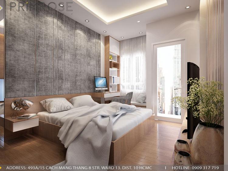 Thiết kế nội thất nhà phố phong cách hiện đại thiet ke noi that nha pho hien dai 8