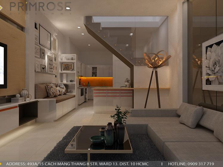 Thiết kế nội thất nhà phố phong cách hiện đại thiet ke noi that nha pho hien dai 9