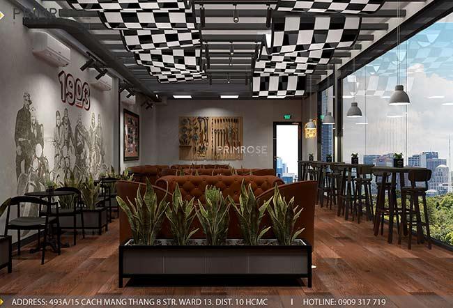 1903 Cafe - Không gian cafe phá cách độc đáo với thiết kế riêng biệt thiet ke quan cafe pha cach Chau Au 2