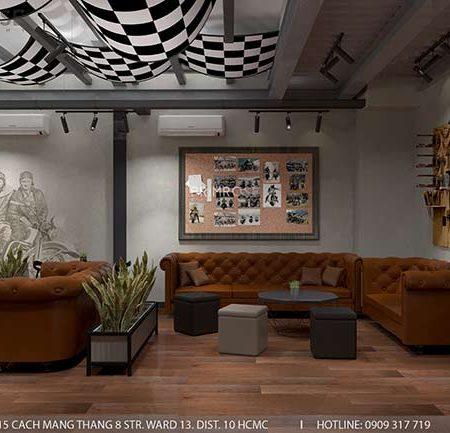 1903 Cafe – Không gian cafe phá cách độc đáo với thiết kế riêng biệt