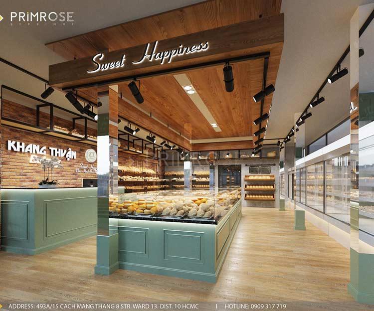 Khang Thuận Bakery – Không gian tiệm bánh mang nét đẹp đặc trưng riêng biệt