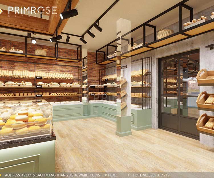 Khang Thuận Bakery - Không gian tiệm bánh mang nét đẹp đặc trưng riêng biệt thiet ke cua hang banh ngot dep 6
