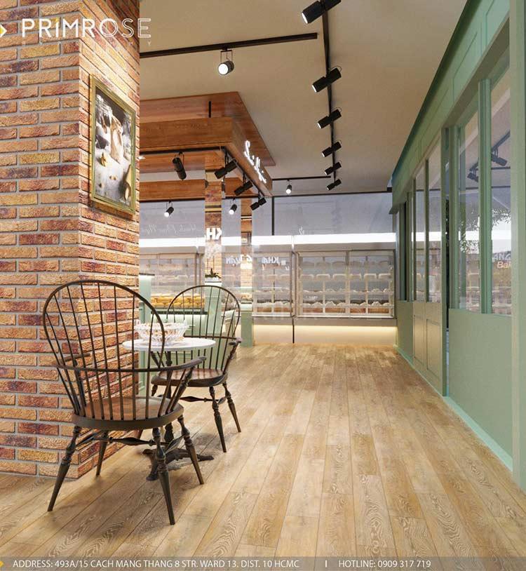 Khang Thuận Bakery - Không gian tiệm bánh mang nét đẹp đặc trưng riêng biệt thiet ke cua hang banh ngot dep 7