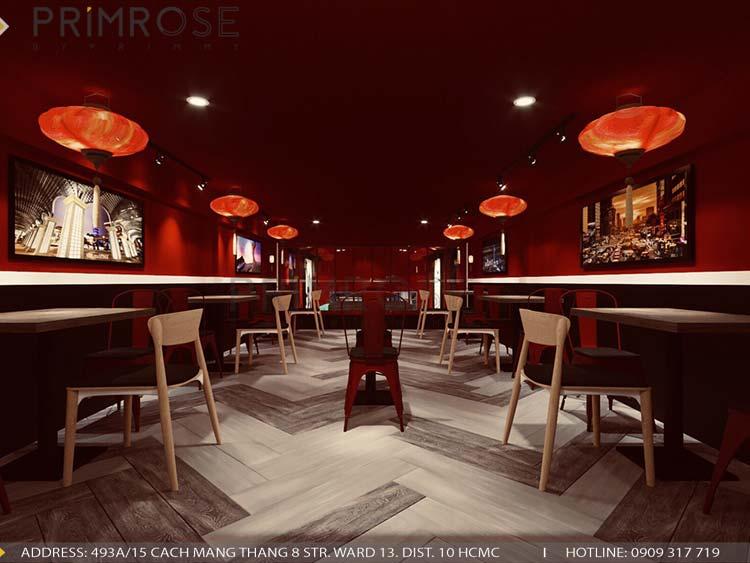 Thiết kế nhà hàng DimSum tại Ông Ích Khiêm, Quận 11 thiet ke nha hang trung hoa 3