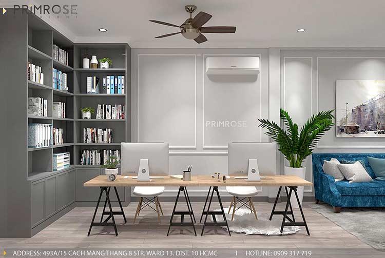 Thiết kế nội thất nhà phố phong cách hiện đại tại Nguyễn Trãi, Quận 5 thiet ke noi that nha pho 140 m2 1