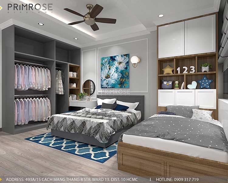 Thiết kế nội thất nhà phố phong cách hiện đại tại Nguyễn Trãi, Quận 5 thiet ke noi that nha pho 140 m2 2
