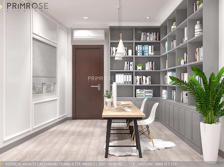 Thiết kế nội thất nhà phố phong cách hiện đại tại Nguyễn Trãi, Quận 5 thiet ke noi that nha pho 140 m2 3