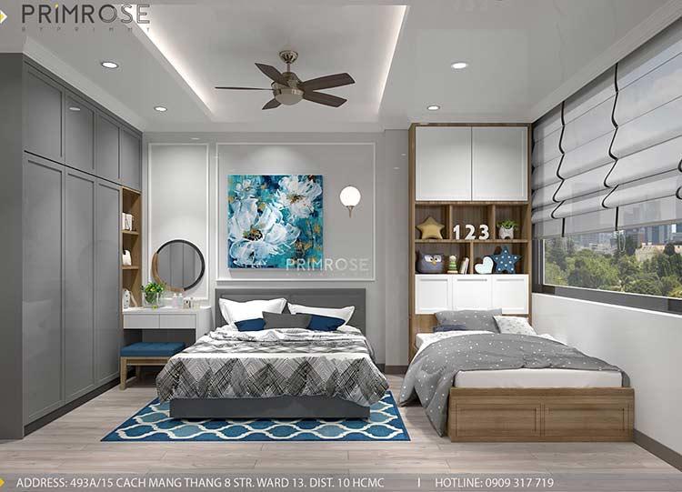 Thiết kế nội thất nhà phố phong cách hiện đại tại Nguyễn Trãi, Quận 5 thiet ke noi that nha pho 140 m2 4