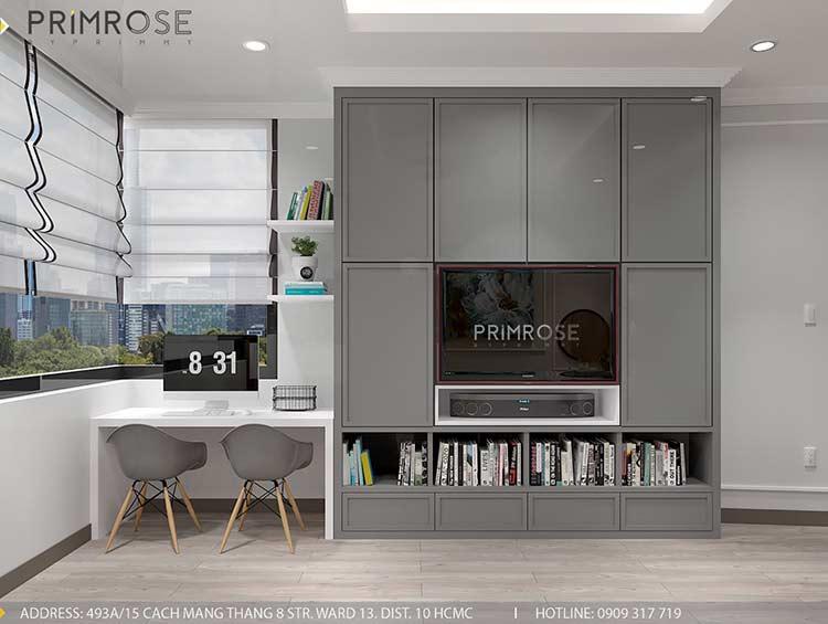 Thiết kế nội thất nhà phố phong cách hiện đại tại Nguyễn Trãi, Quận 5 thiet ke noi that nha pho 140 m2 5