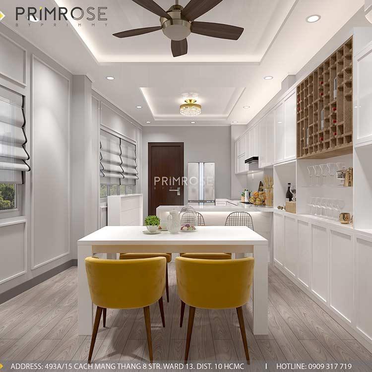 Thiết kế nội thất nhà phố phong cách hiện đại tại Nguyễn Trãi, Quận 5 thiet ke noi that nha pho 140 m2 8