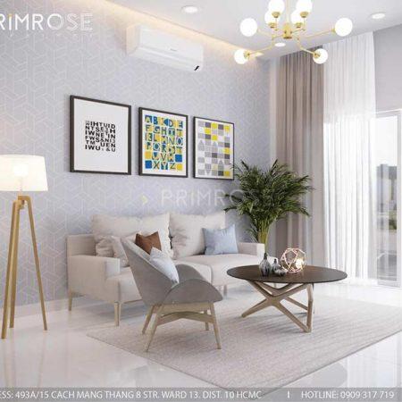 Thiết kế nội thất nhà phố 75m2 tại Quận 2