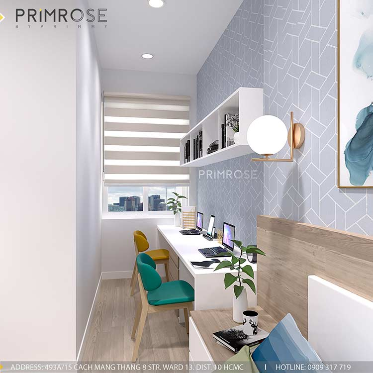 Thiết kế nội thất nhà phố 75m2 tại Quận 2 thiet ke noi that nha pho hien dai 9