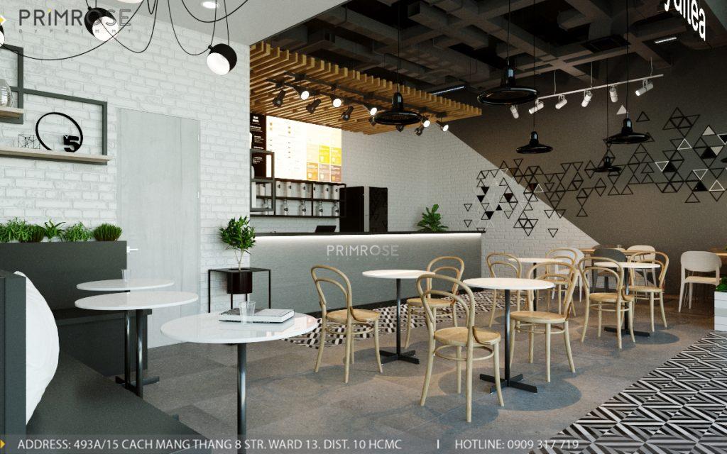 Thiết kế quán trà sữa Royaltea- Gold View Quận 4 thiet ke noi that quan tra sua roya tea 5