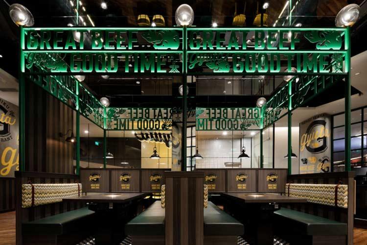 Thiết kế nhà hàng nướng, BBQ chuyên nghiệp trọn gói tại HCM thiet ke nha hang nuong bbq 5