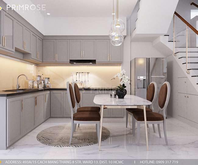 Thiết kế nội thất nhà phố 150m2 phong cách hiện đại thie ke noi that nha pho 3