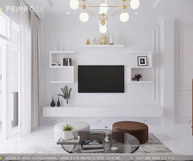 Thiết kế nội thất nhà phố 150m2 phong cách hiện đại thie ke noi that nha pho 5
